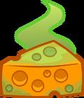 Stinky Cheese Puffle Food