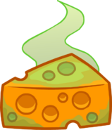 Stinky Cheese Puffle Food