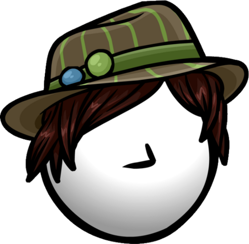 File:Brown Striped Fedora former icon.png