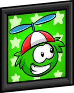 Green Puffle Picture sprite 001