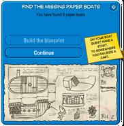 Paper Boat Scavenger Hunt 2008 Build the blueprints