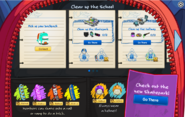 School & Skate Party Interface Page 1