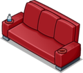 Red Designer Couch sprite 006