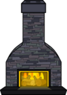 Cozy Fireplace sprite 006
