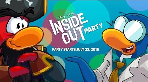 Inside Out Party 2015 X-TREME Party Walkthrough (Contains Spoilers)