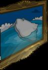 Lodge Attic Iceberg Painting