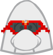 Red Pixel Glasses icon