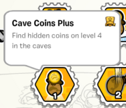 Cave coins plus stamp book