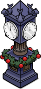 Holiday Station Clock IG