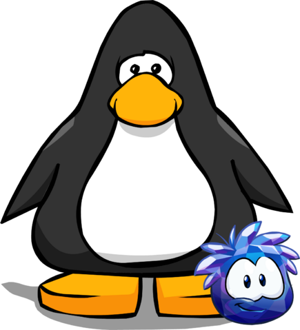 File:Blue Crystal Puffle on a Player Card.png