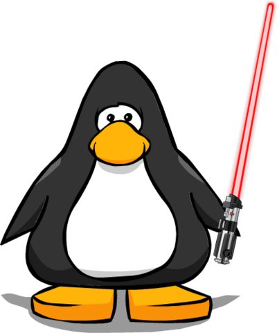 File:Darth Vader's Lightsaber from a Player Card.png