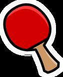 Ping Pong Paddle Pin