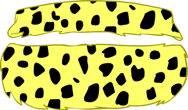 File:Leopard-print Two-piece icon.png