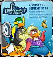 Underwater Adventure ad