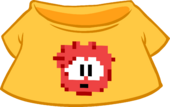 Red Pixel Puffle Tee icon