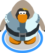 Chain Mail & Tabard on a penguin in-game