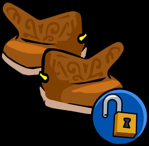File:Cowboy Boots unlockable icon.png