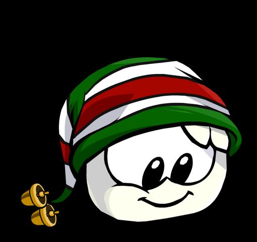 File:White PuffleCap.png