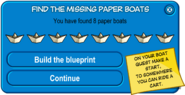 Paper Boat Scavenger Hunt 2008