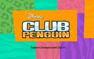Zootopia Party logo screen