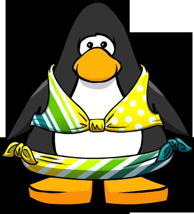 File:Lemon Lime Stripe Bikini from a Player Card.png