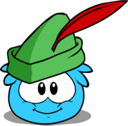 Sherwood Hat in Puffle Interface