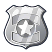 Decal Police Badge icon