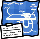 Blueprint stamp