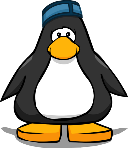 File:Puffle Hotel Cap from a Player Card.png