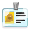 Decal Name Tag icon