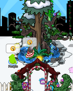 Megg at an igloo