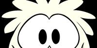 White Puffle Costume