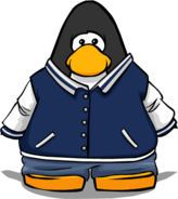Jock Jacket from a Player Card