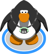Dubstep Puffle Bling in-game