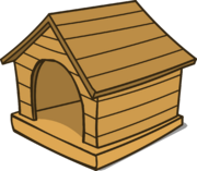 Brown Puffle House ID 205 sprite 002