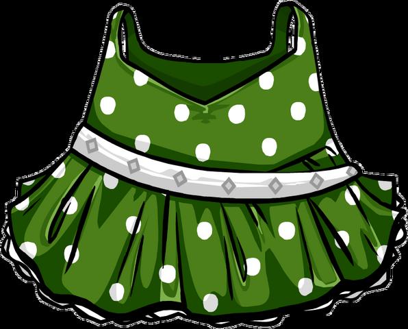 File:Green Polka-Dot Dress.png