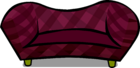 Burgundy Couch sprite 001