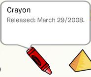 Crayon Pin Stamp Book