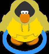 Golden Hoodie in-game