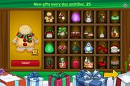 2015 Advent Calendar app page 1
