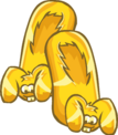 Gold Bunny Slippers clothing icon ID 6209