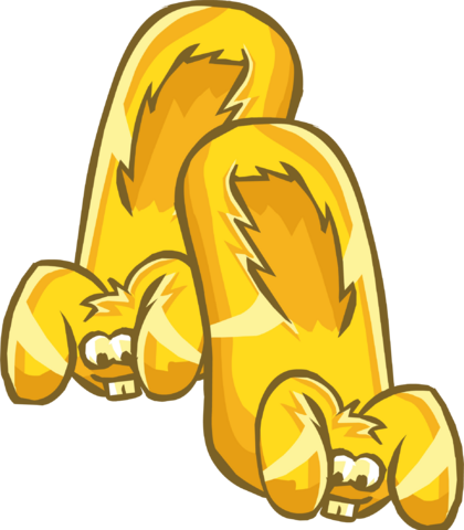 File:Gold Bunny Slippers clothing icon ID 6209.PNG
