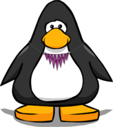 Jagged Purple Necklace PC