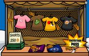 Shirts Rock Stand 2008