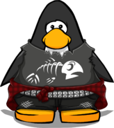 Punk Fluffy Outfit from a Player Card