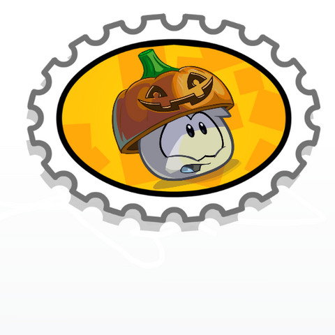 File:White puffle halloween stamp.png