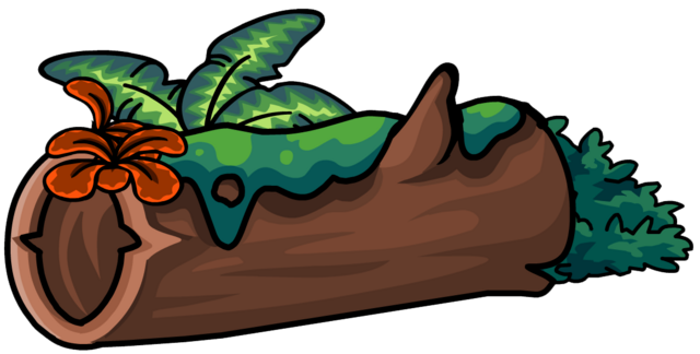 File:Mossy Log furniture icon ID 701.png