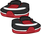 Sneaky Sneakers clothing icon ID 6235