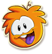 Orange puffle selected