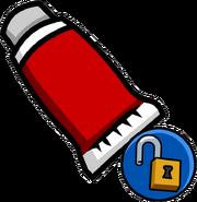 Red Face Paint (Unlockable)
